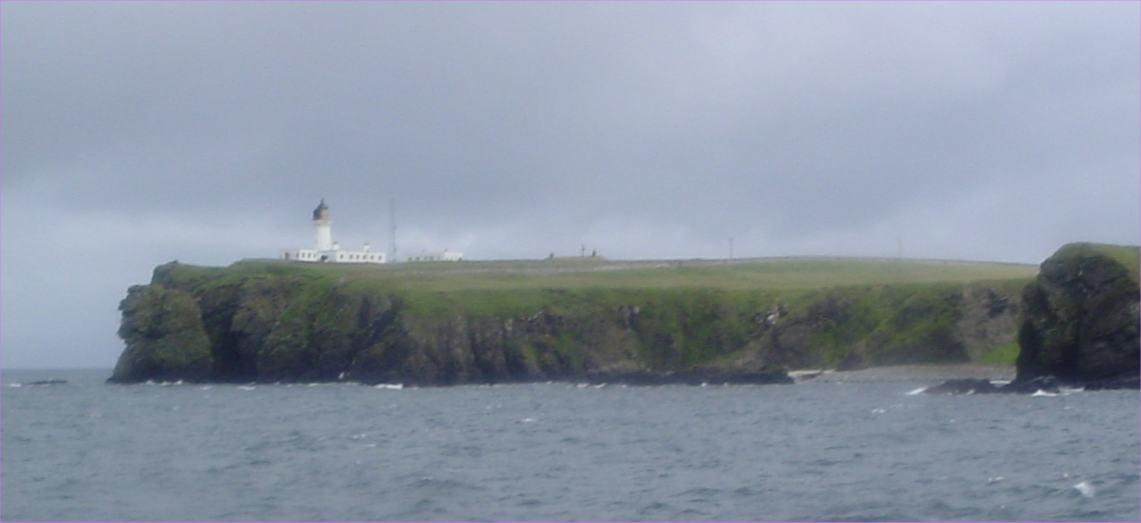 Photo: Noss Lighthouse