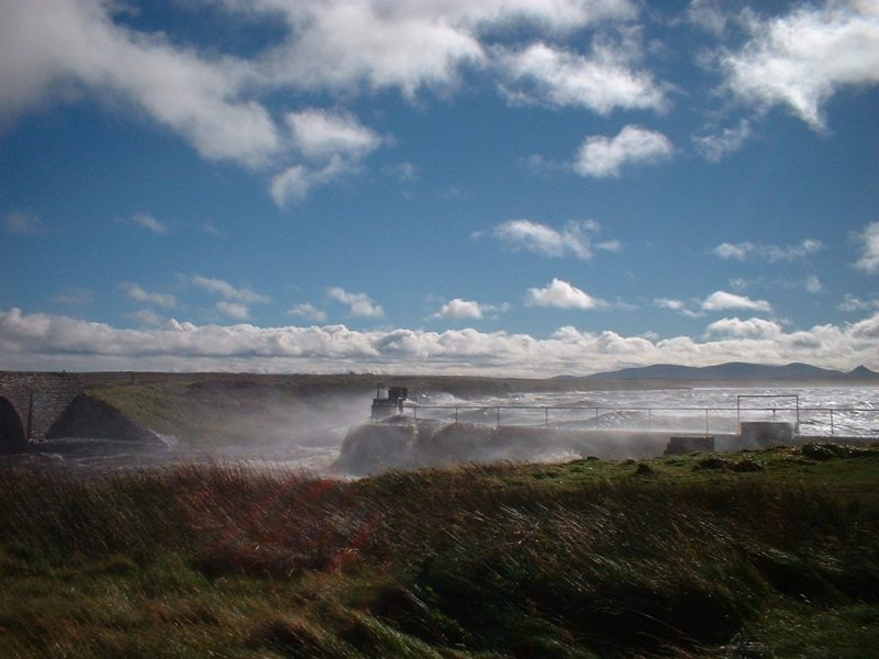 Photo: Windy Day At Loch More, Caithness