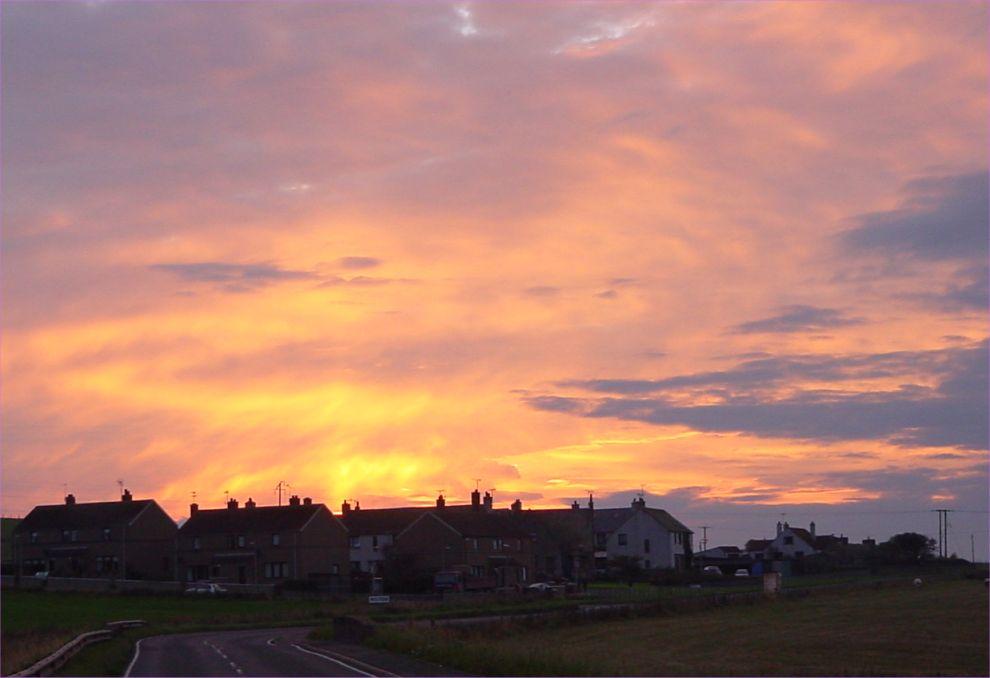 Photo: Sunset Over Milton