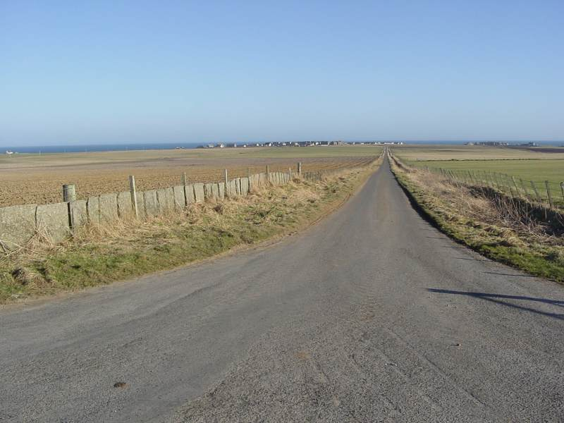 Photo: Road To Noss