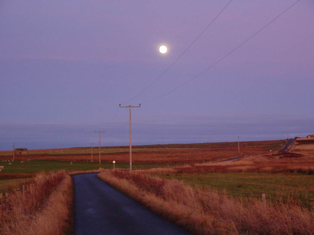 Photo: Moon Over Wick