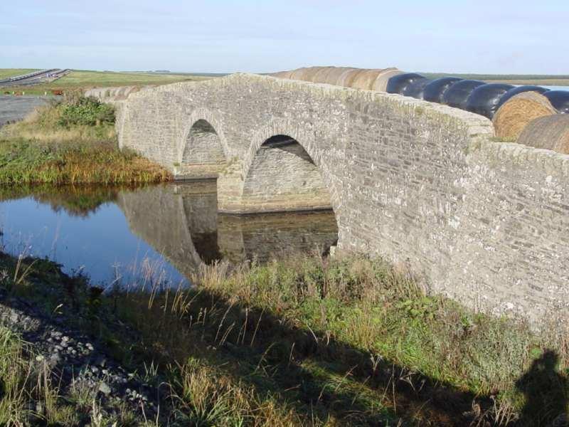 Photo: Old Bridge At Wester