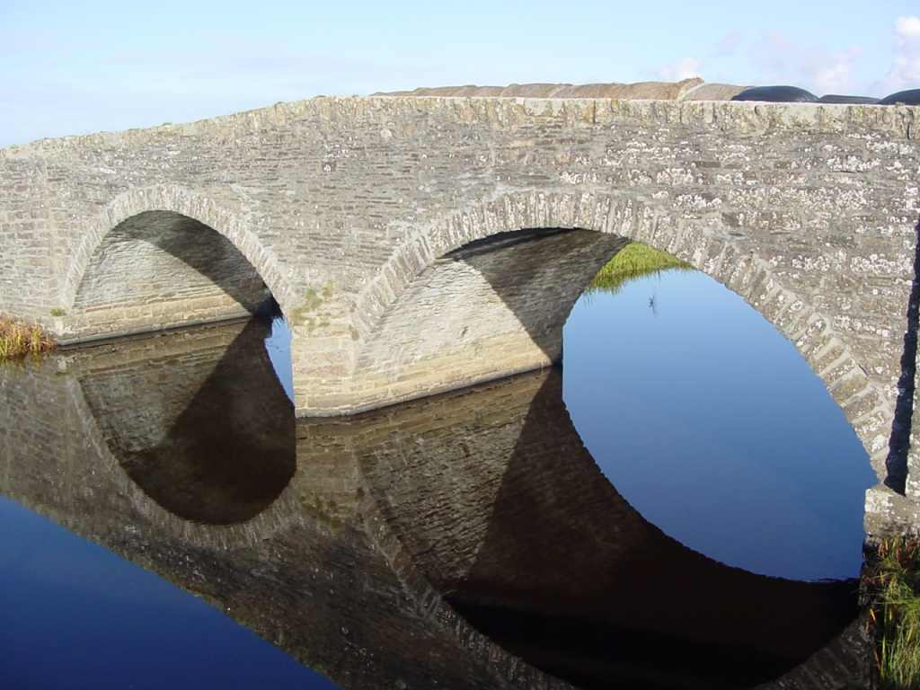 Photo: Old Bridge At Wester