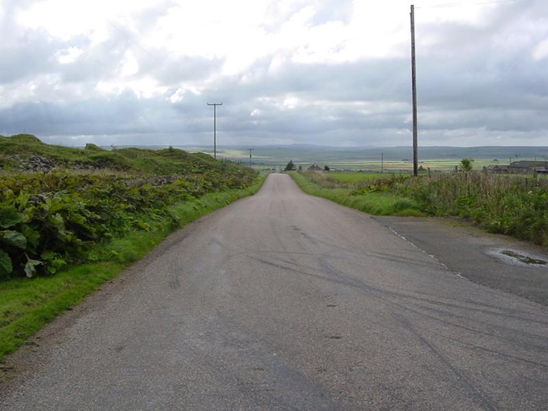 Photo: Road beside quarry