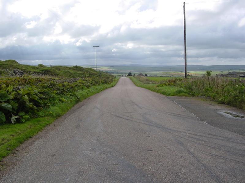 Photo: Road beside quarry