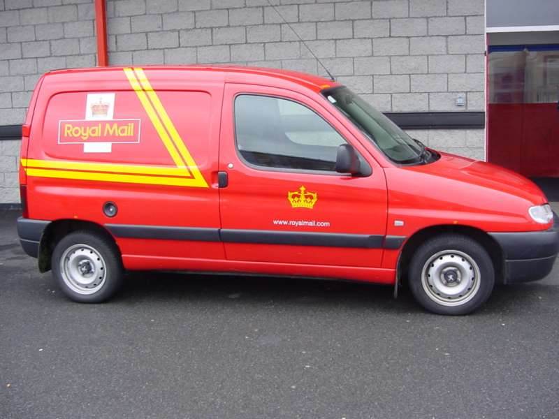 Photo: Royal Mail Van