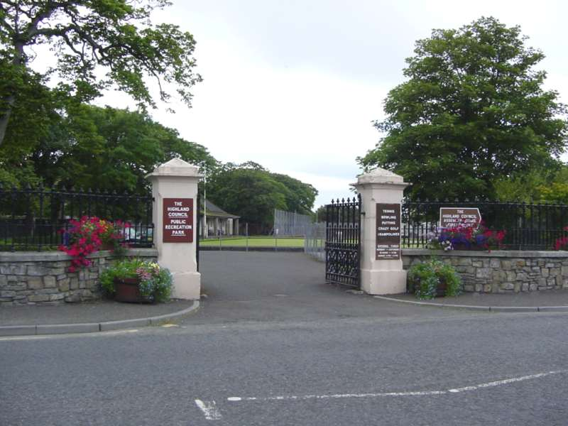 Photo: Public Recreation Park Entrance