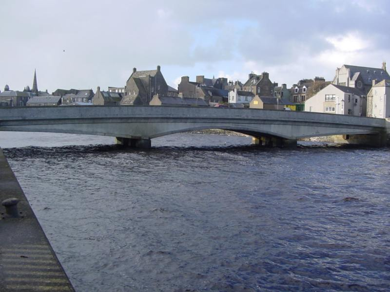 Photo: Service Bridge, Wick
