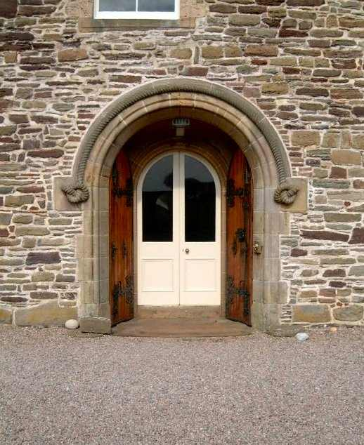 Photo: Ackergill Tower Entrance