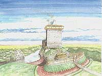 Reconstruction of the castle's appearance