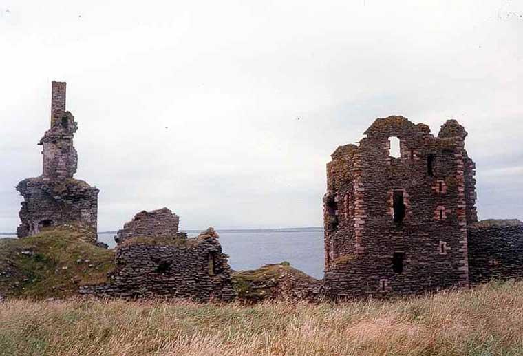 Photo: Sinclair & Girnigoe Castle