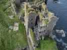 Girnigoe Castle From Slightly Above