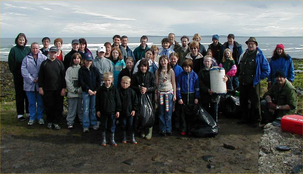 Photo: Volunteers At Beach Clean