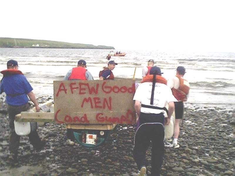 Photo: Thurso Raft Race