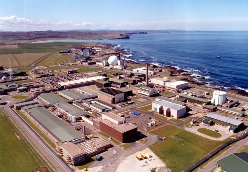 Photo: Dounreay Site At Present
