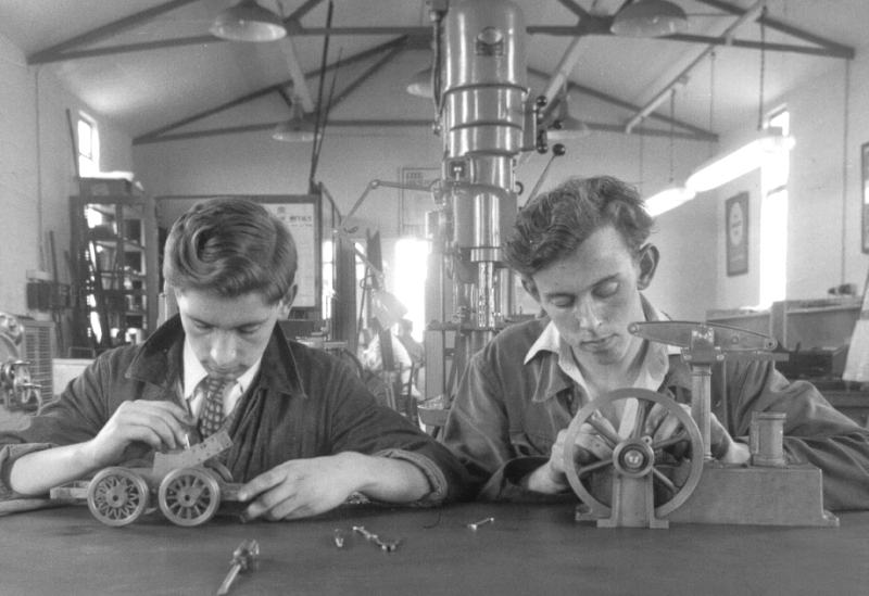 Photo: Apprentices At Work