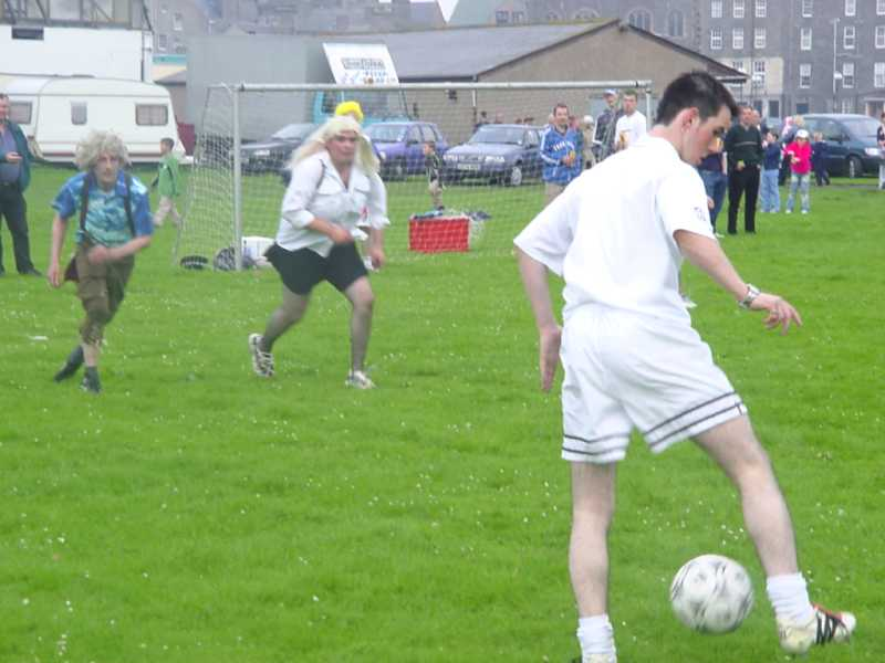 Photo: Wick Gala Fancy Dress Football