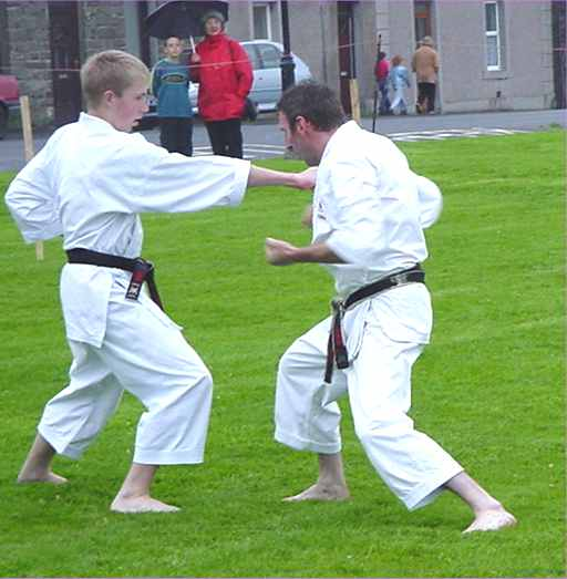Photo: Wick Gala Karate Demonstration