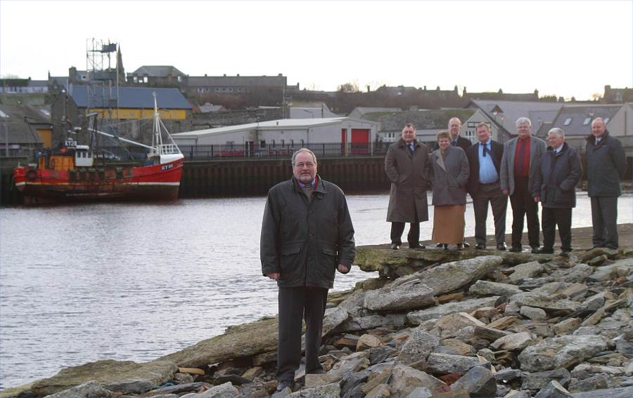 Photo: Councillors Check Damage