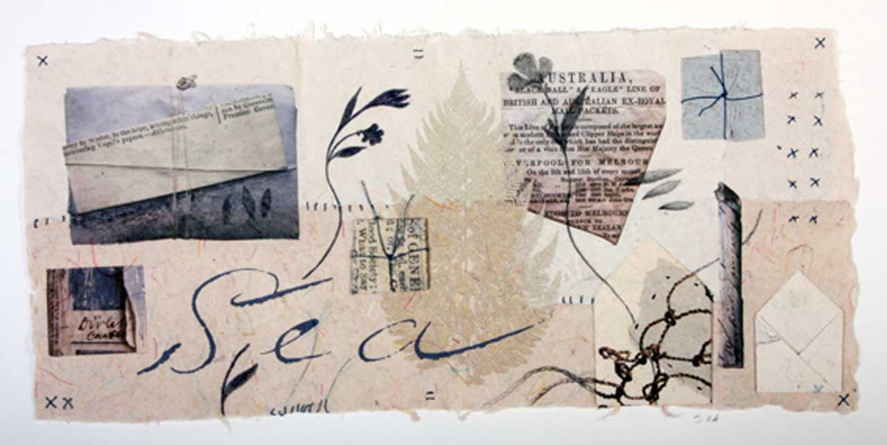 Photo: Joanne B Kaar - 10 Paper Wrappers and Herbarium Sheets