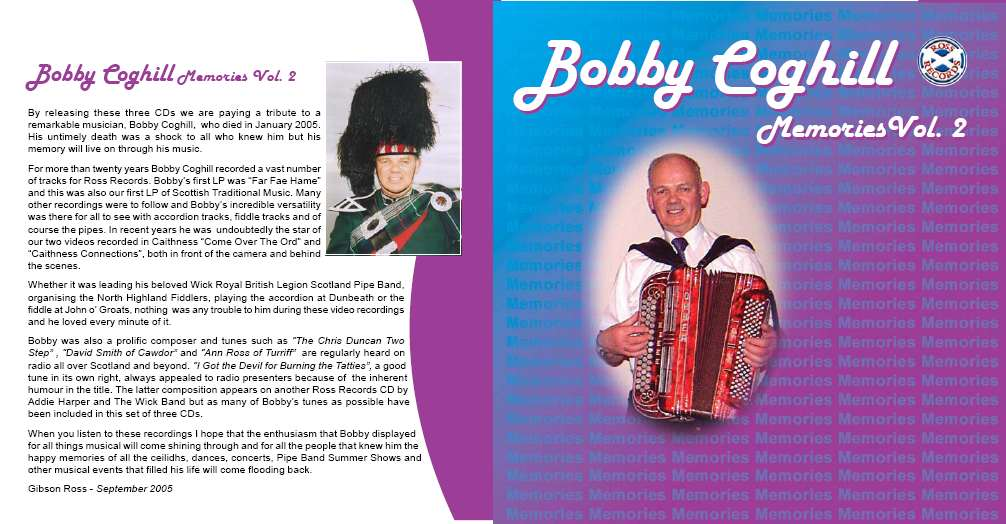 Photo: 25 Years Of Bobby Coghill - Memories Vol 2