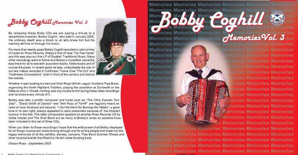 Photo: 25 Years Of Bobby Coghill - Memories Vol 3