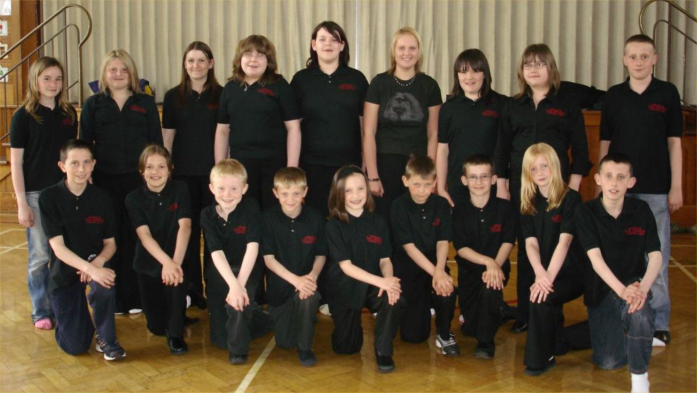 Photo: Caithness and North Sutherland Children's Choir 2006