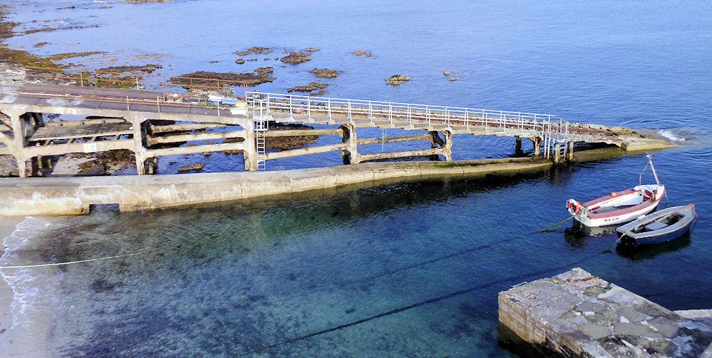 Photo: Slipway at Ackergill Harbour