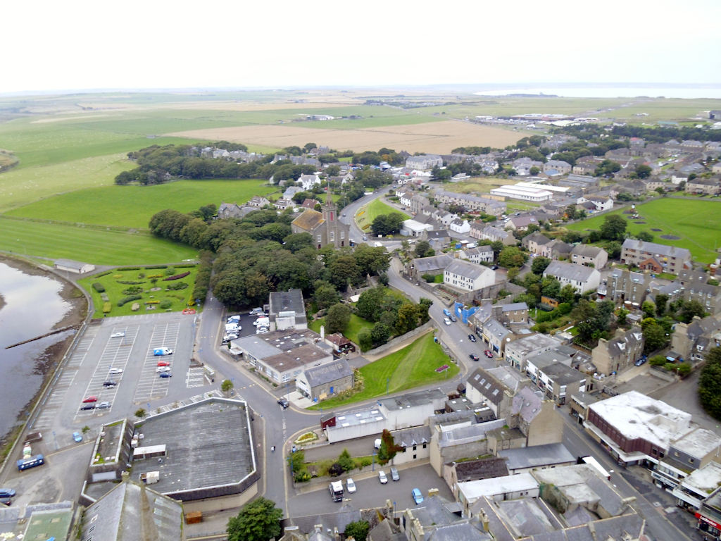 Photo: Wick - Norseman Hotel and St Fergus Church Centre