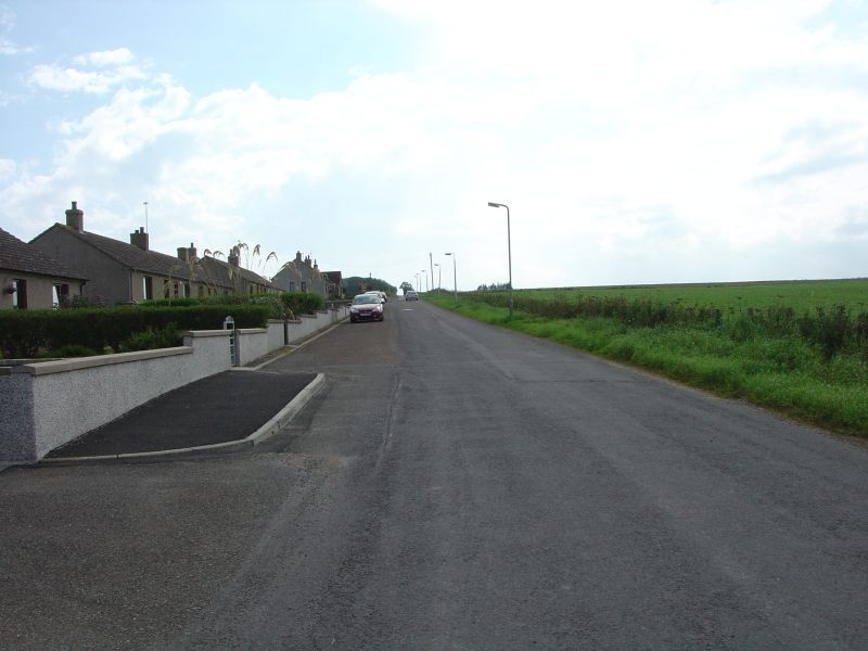 Photo: Looking Along The Road At Thura Place, Bower