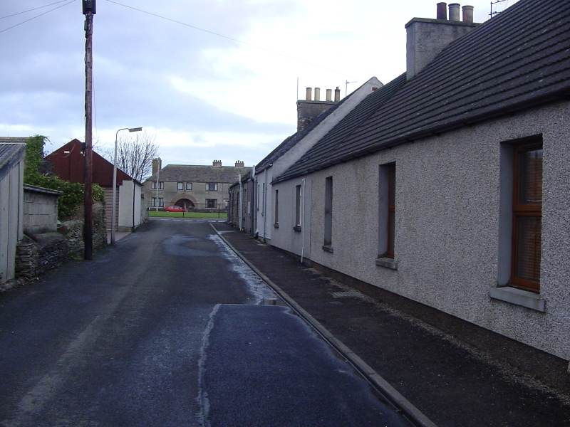 Photo: Allan's Lane, Castletown