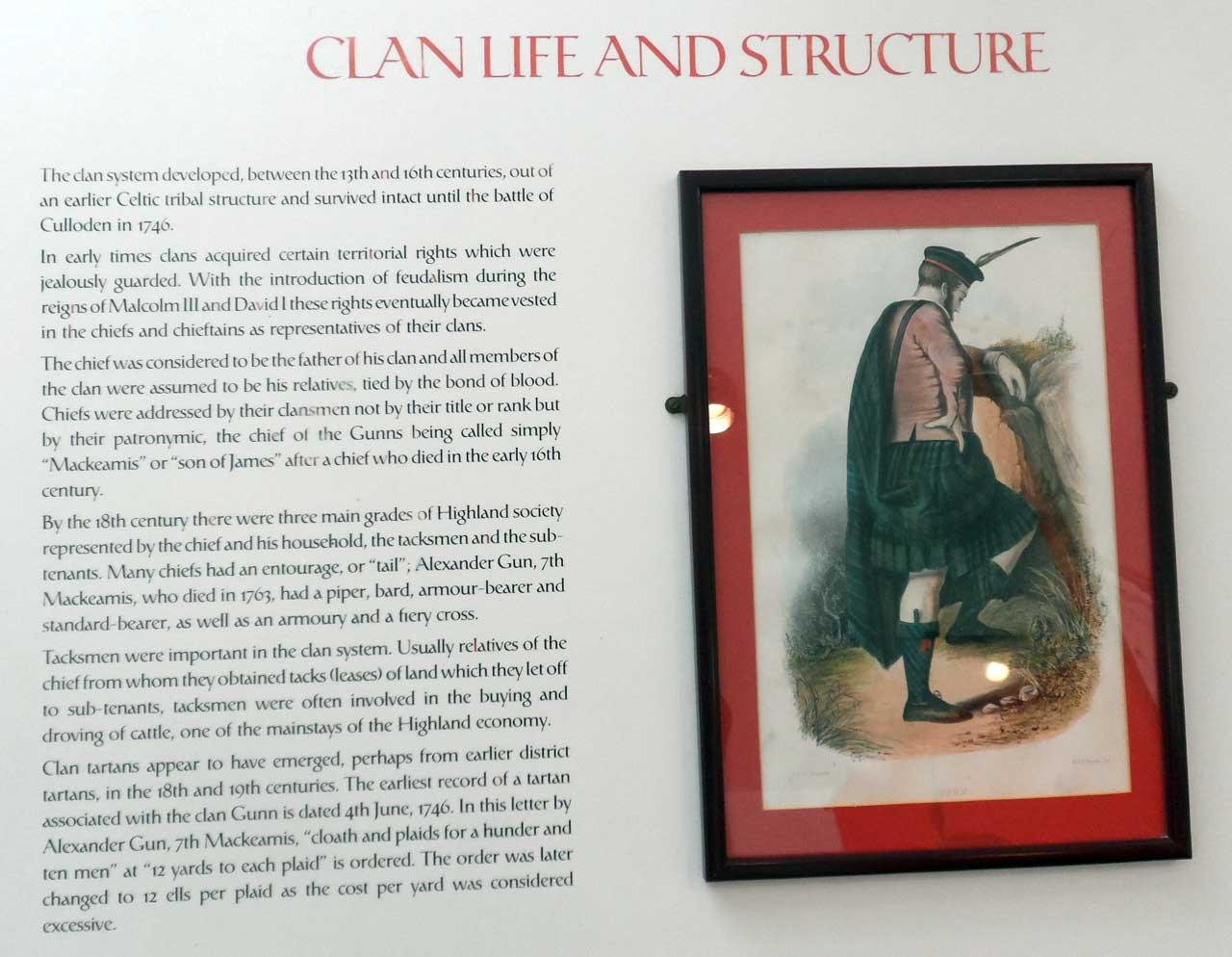 Photo: Clan Gunn Museum, Latheron, Caithness