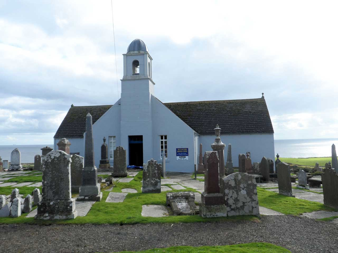 Photo: Clan Gunn Museum, Latheron, Caithness