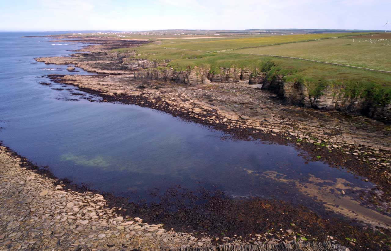 Photo: Ham Harbour From Above, Caithness