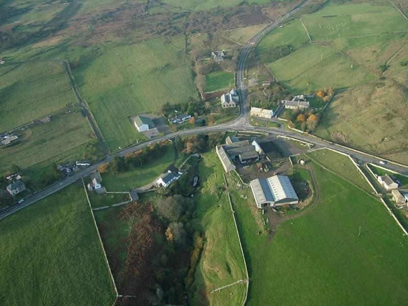Photo: Latheron From The Air
