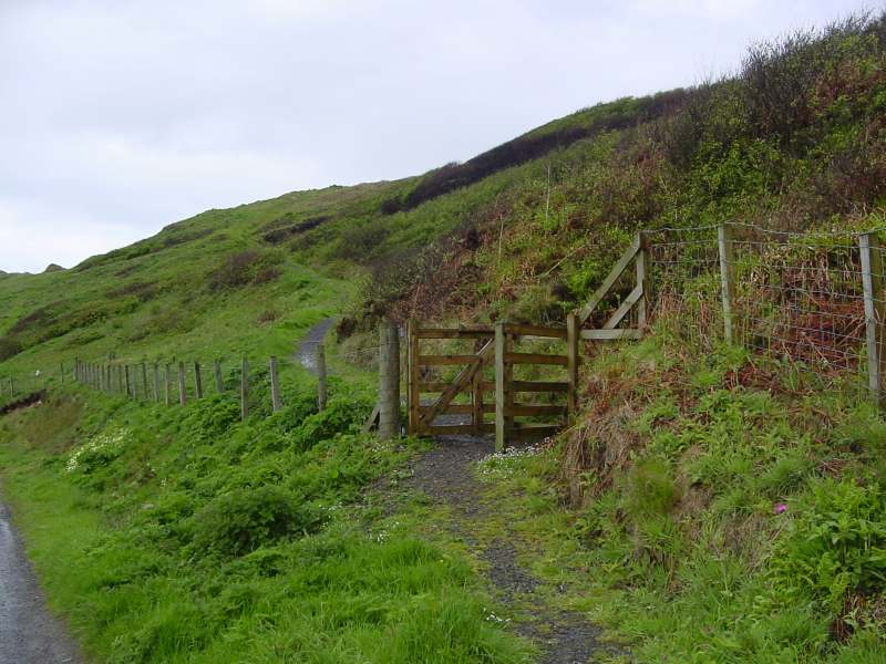 Photo: Gate To Coastal Walk