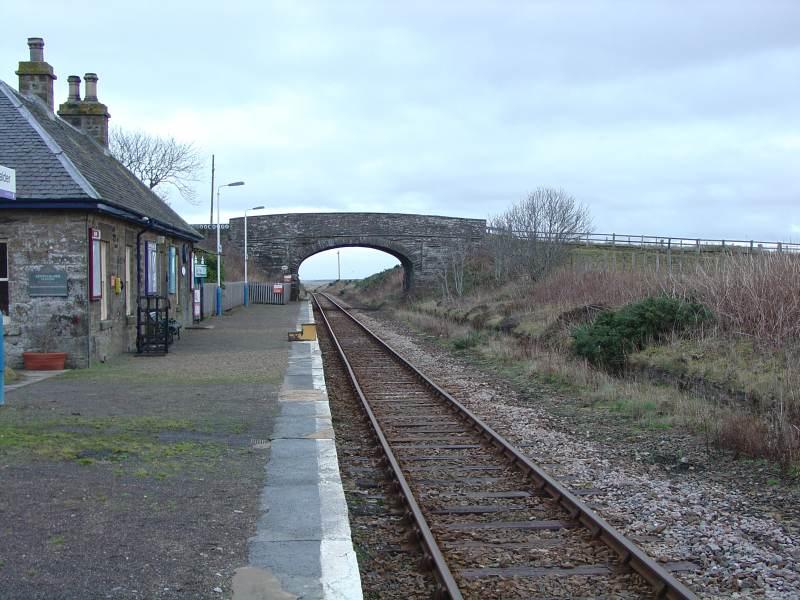 Photo: Scotscalder Station
