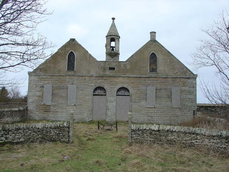 Photo: Reay Free Church 1844 - Shebster, Caithness