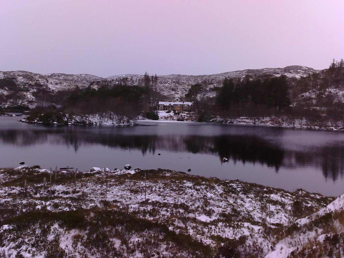 Photo: Glencanisp At Assynt, Sutherland - In Winter