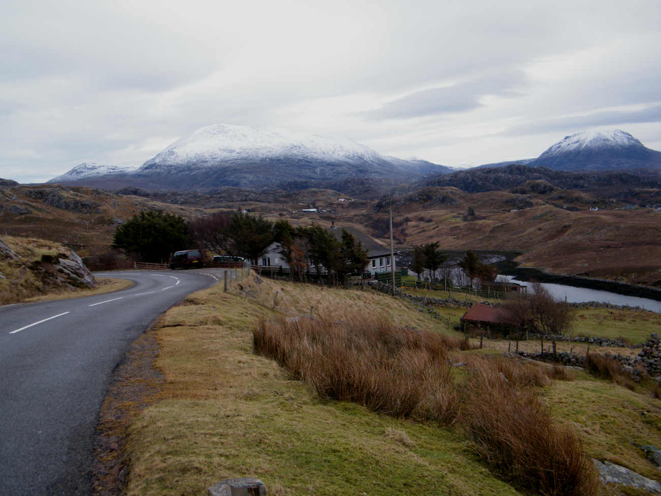 Photo: Looking towards Foinaven