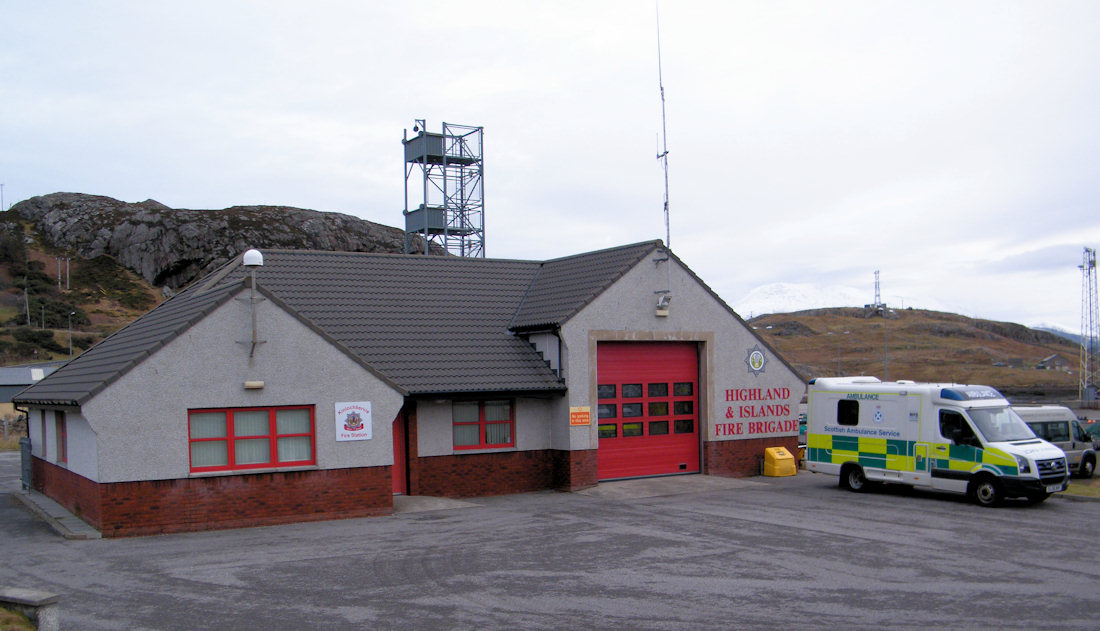 Photo: Kinlochbervie Fire Station