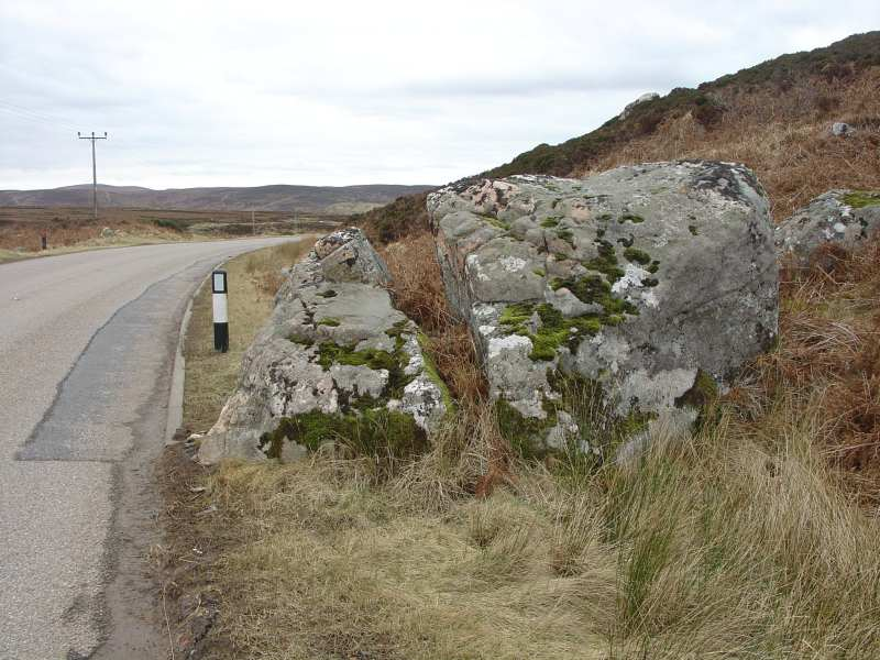 Photo: The Split Stane - Sutherland