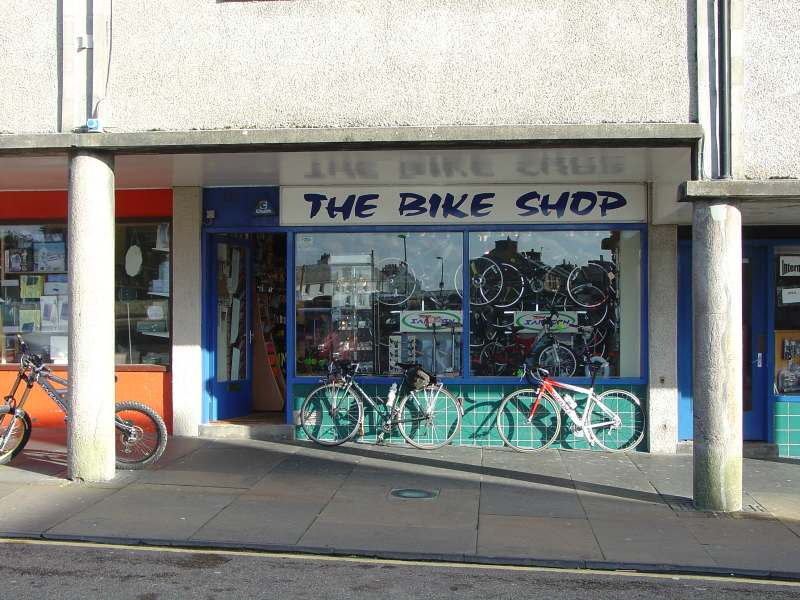 Photo: Bike shop - High Street, Thurso