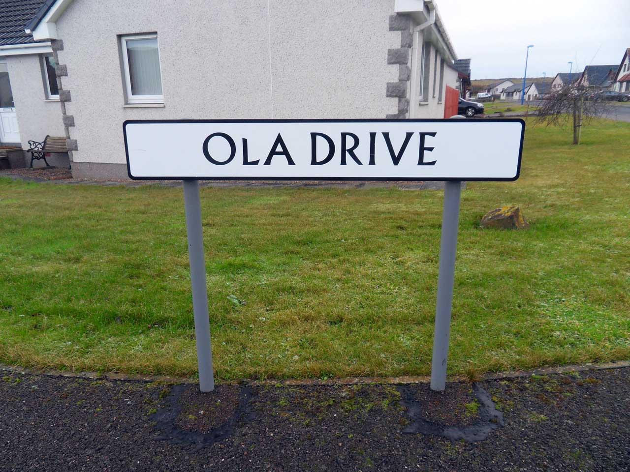 Photo: Ola Drive, West Gills, Thurso