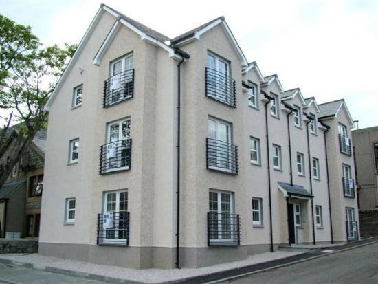 Photo: Modern Flats In Sinclair Street, Thurso