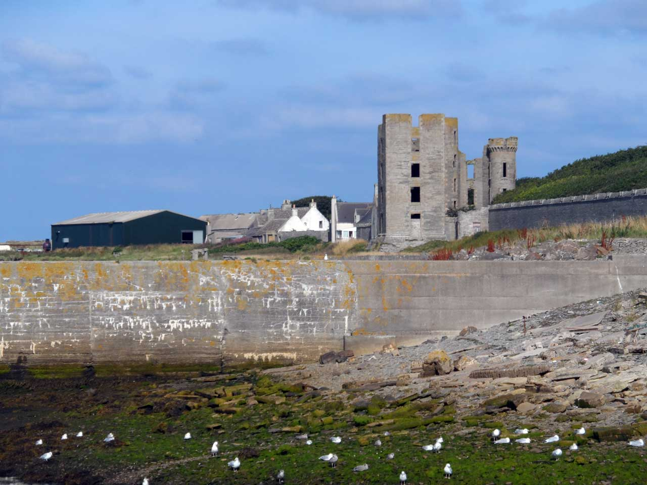 Photo: Thurso East Castle