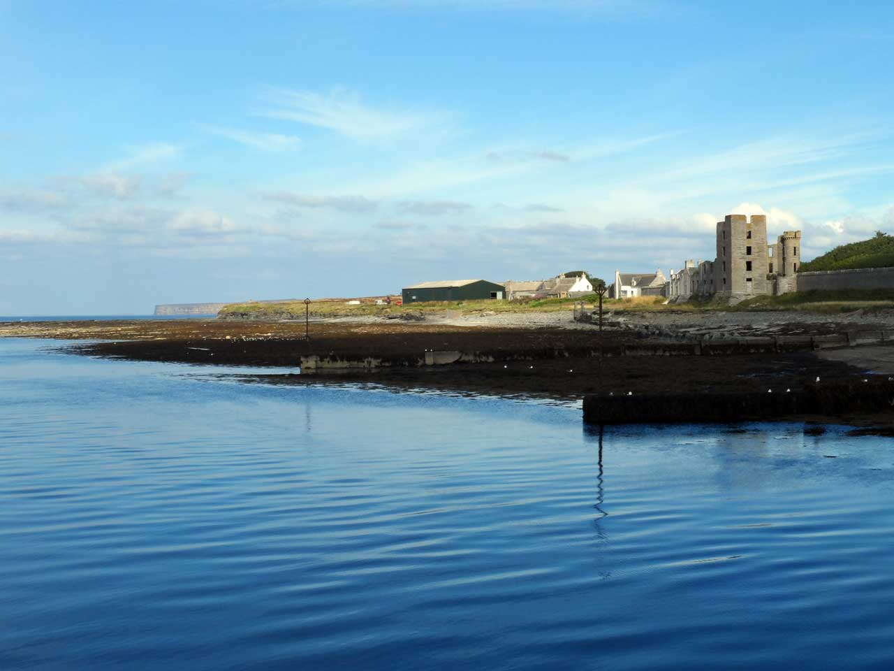 Photo: Looking To Thurso East Castle