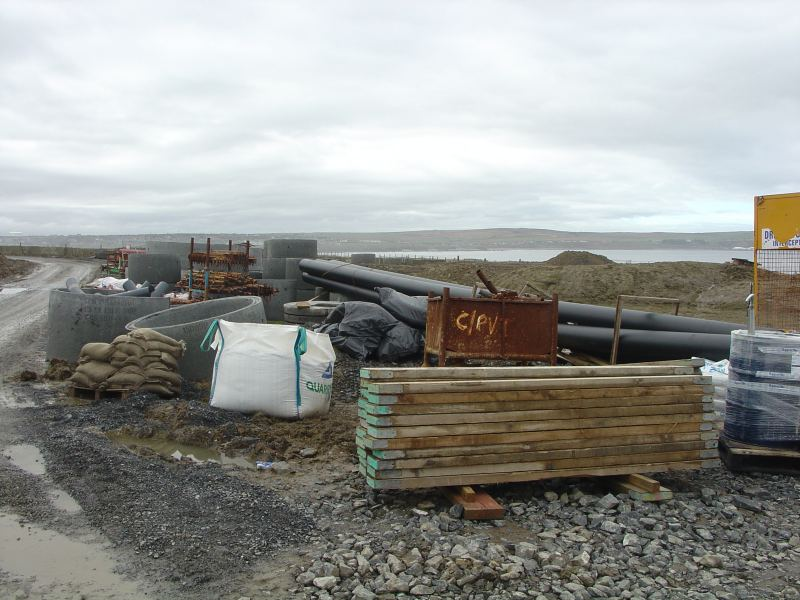 Photo: Around the New Waste Water Treatment Works For Thurso