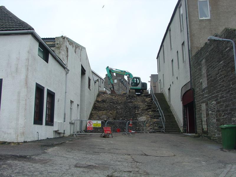 Photo: Work Starts On Rebuiding The Blackstairs, Wick