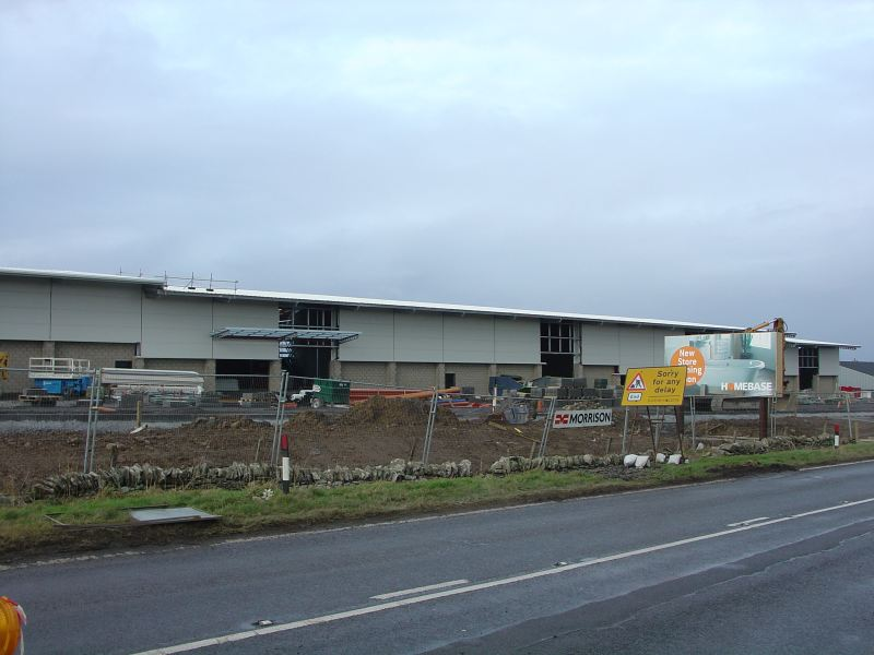 Photo: A Mile Of New Road Leading Into Wick 11 December 2005